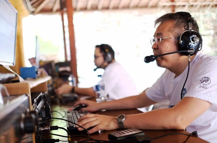 8J17CALL by 7-CALL Amateur Radio Club, Japan