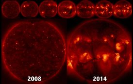 New Solar Cycle Likely Began Last December