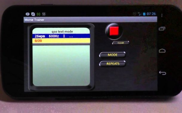 Android APP – Morse Trainer for Ham Radio