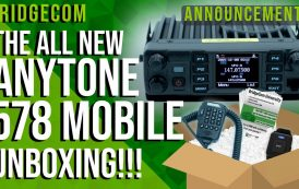 AnyTone AT-D578UVIIIPRO Unboxing