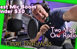 Organize Your Ham Radio Shack With Mic Booms & Switches