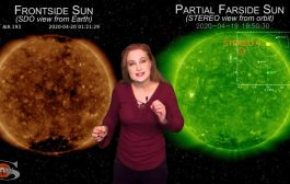 A Solar Storm, Comets ATLAS & SWAN, and a Shower   Space Weather News 04.23.2020