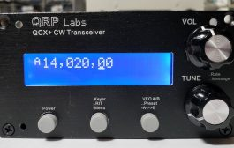 QRP Labs new QCX+ QRP CW/WSPR transceiver kit