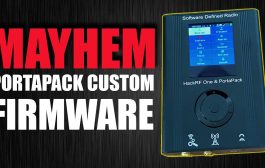 MAYHEM Firmware for the HackRF Portapack Installation / Overview