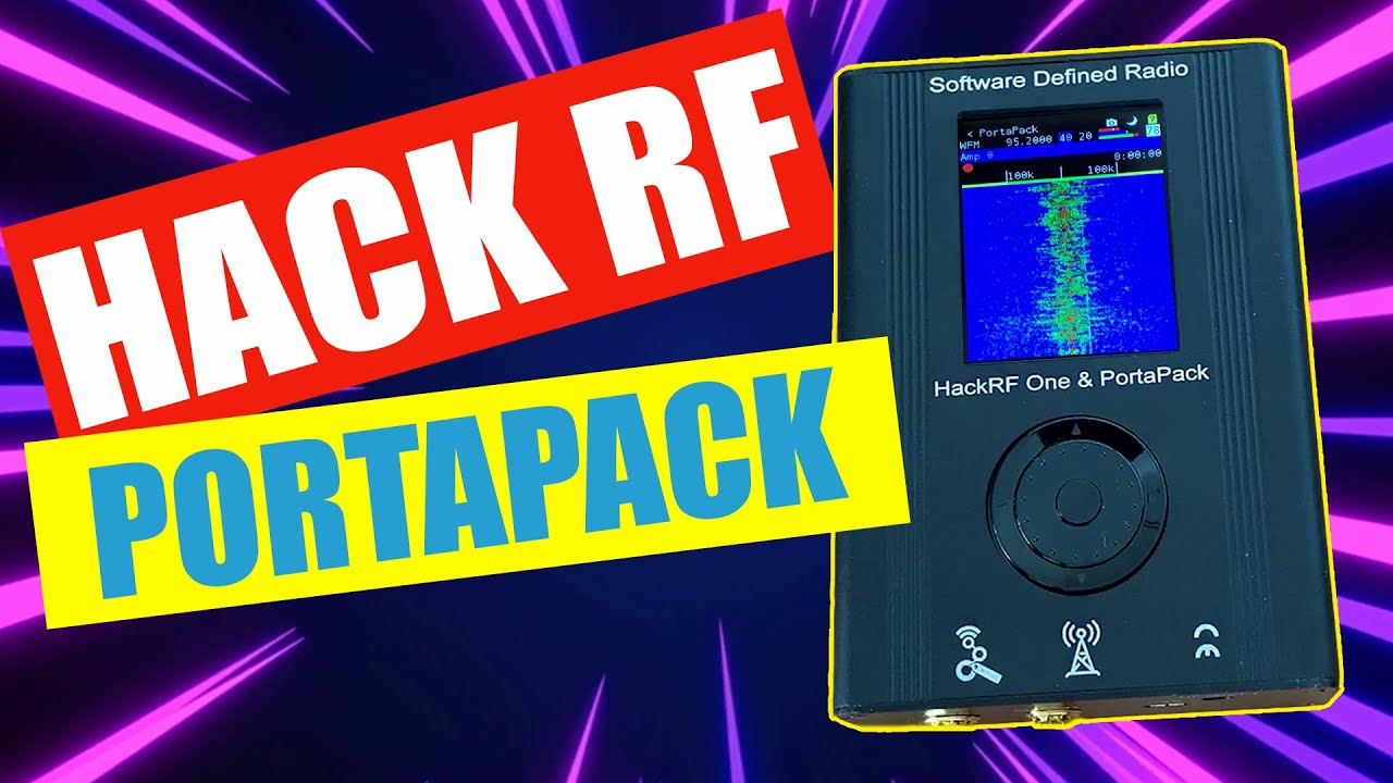Portapack H1 For HackRF – Ultimate RF Hacker Tool