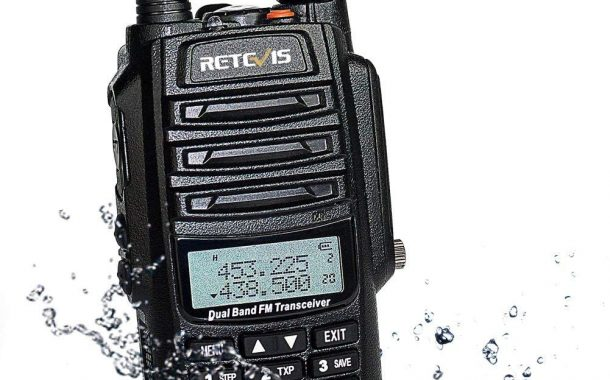 Retevis RT6 Dual Band Analog HT Unboxing