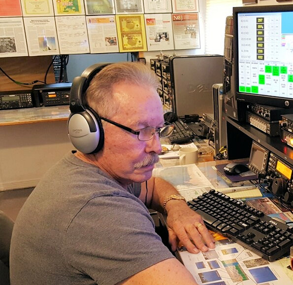 Well-Known Contester and Contest Station Builder Grady Ferguson, W5FU, SK