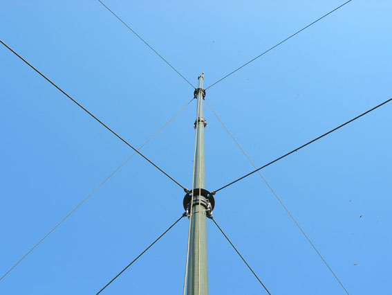 Carbon Fiber Mast for Ham Radio Antennas