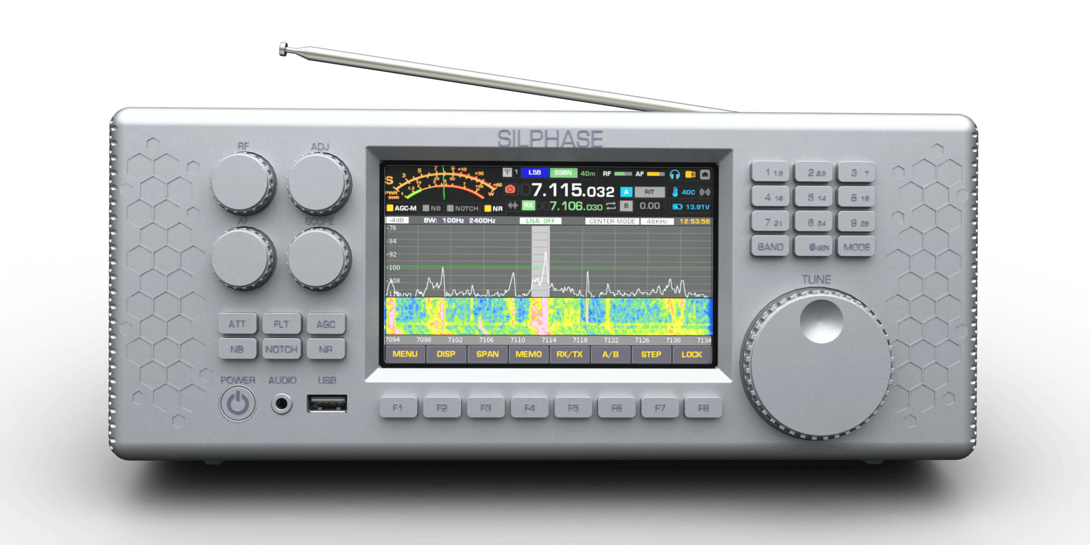 The new Silphase R1 SDR receiver