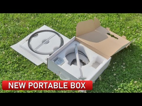 UltraLight Magnetic Loop Antenna – NEW Original Packaging!