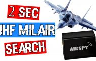 How to use Frequency Scanner to Search UHF MilAir in 2.3 seconds in SDR# using AirSpy R2