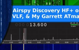 Is the Airspy Discovery HF+ sensitive on VLF? Testing with a Garrett metal detector