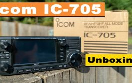 NEW Icom IC-705 Unboxing from the Guv'nor