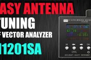 Easily Check Your Antennas Tuning – VNA N1201SA / PS100