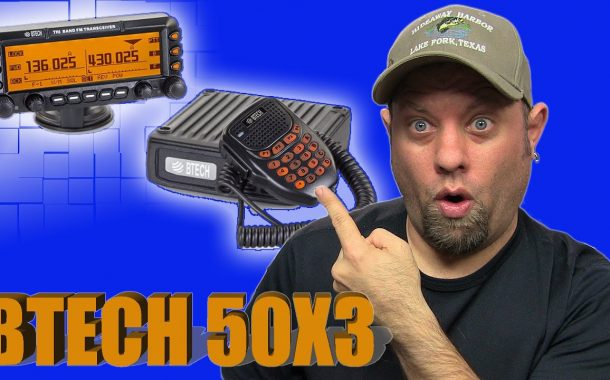 BaofengTech BTECH 50X3 Triband Mobile Radio Review and Power Testing