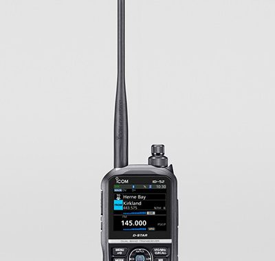 Icom releases the ID-52A/E Amateur Handheld Transceiver with Color Display and Bluetooth® Communication