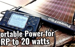 Portable QRP Ham Radio & PowerFilm Lightsaver Max