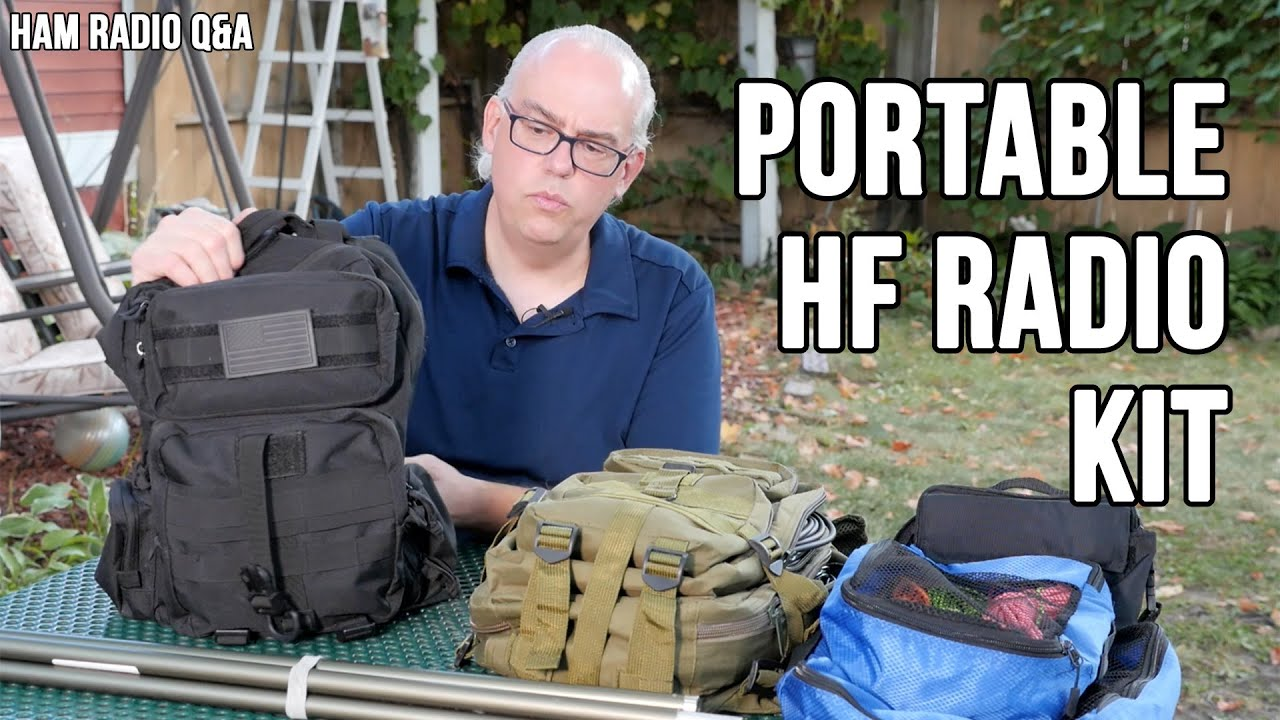 My 2020 HF Radio Portable Field Kit – Ham Radio Q&A