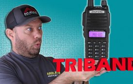 Baofeng UV-82×3 Triband Ham Radio Review and Power Testing