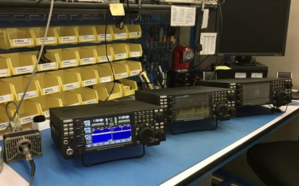 """New Elecraft K4s in production"