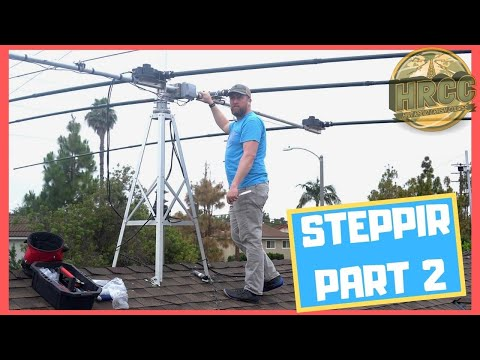 SteppIR Three Element Beam Install Part 2