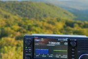 ICOM IC-705 In Full Sunlight