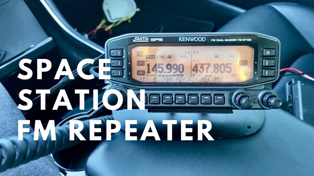 The International Space Station now has an accessible FM Repeater