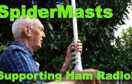 Easy Ham Radio Mast System – Spidermast from Spiderbeam