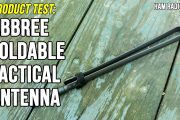 Abbree Foldable CS Tactical Antenna