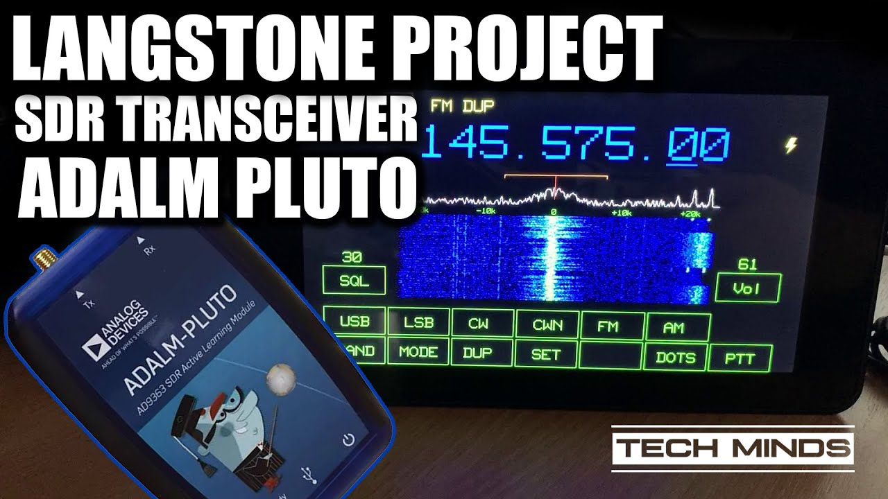 Langstone Project – SDR Transceiver using an Adalm PlutoSDR