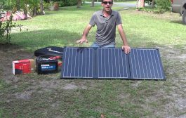 Portable Solar Power, Samlex Foldable Solar Panel, Off-Grid Emergency Electricity