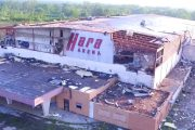 Former Dayton Hamvention Venue Hara Arena is Being Demolished