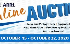 Get Ready for the 15th Annual ARRL Online Auction!