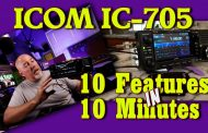 Icom IC 705 10 Features in 10 Minutes