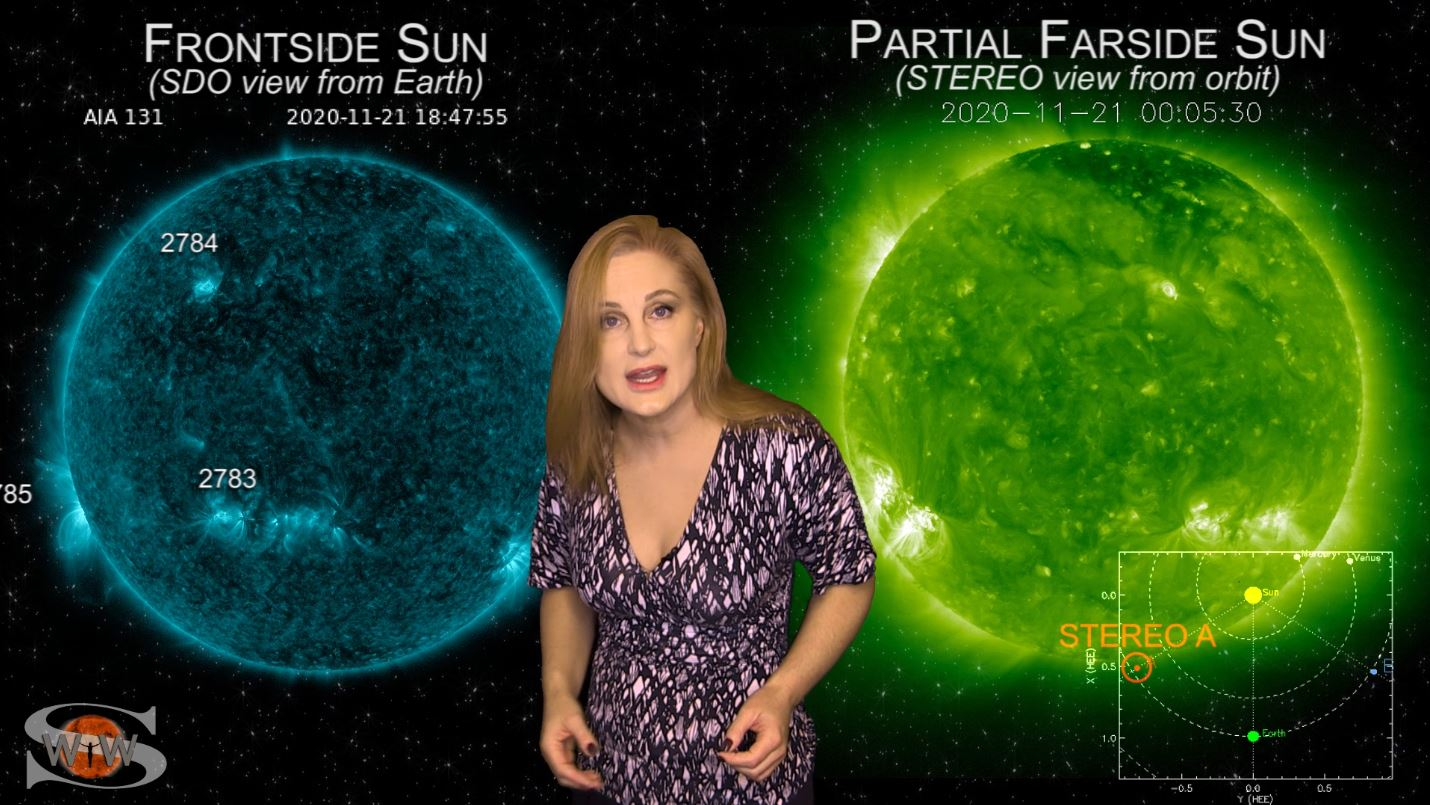 Solar Flux Hits New High & Big Flares Possible Now | Space Weather News 11.26.2020