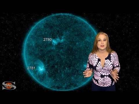 Activity Ups with Storms, Flares & Fast Wind | Solar Storm Forecast