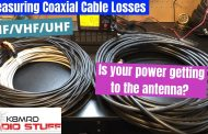 Measuring Coaxial Cable Losses @ HF, VHF, and UHF frequencies.