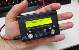 The QCX-Mini 20m QRP Rig Kit Arrives