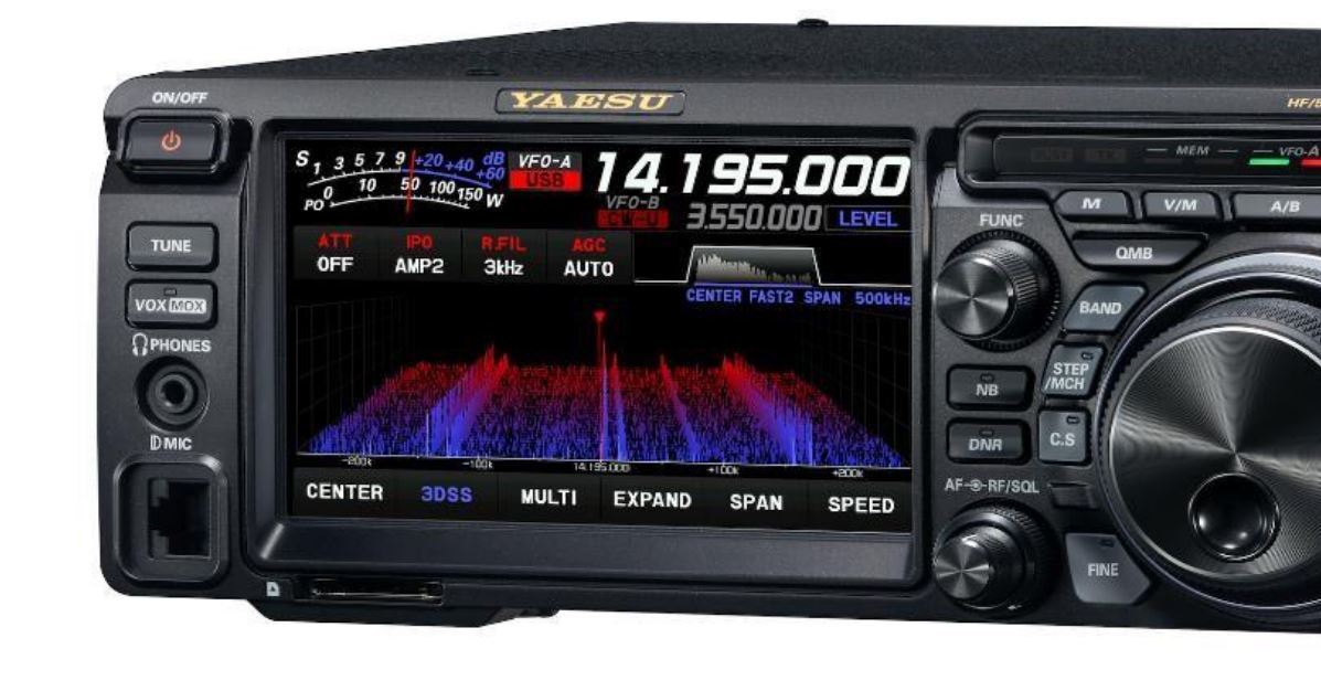 Yaesu FT DX10 Unboxing, First Impressions and Visual Comparison to the Icom IC-7300 / FTDX10 FT-DX10