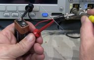 Measure length of coax, etc. with your scope, a battery and a resistor – simple TDR