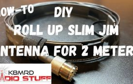 Build your own Roll Up Slim Jim Antenna for the 2 Meter Ham Radio Band.