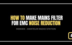 Make a mains filter for EMC & noise reduction