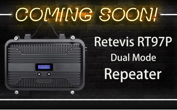 New Arrival! Dual Mode Portable Repeater RT97P
