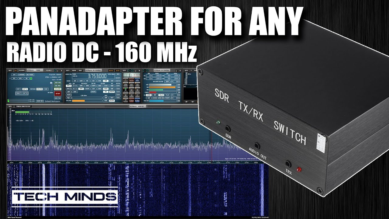 PANADAPTER For Any Radio DC – 160 MHz SDR Antenna Switch