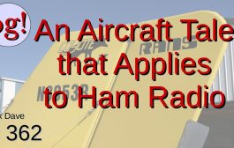 An Aircraft Tale That Applies to Ham Radio