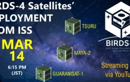 Amateur radio satellites deploy March 14
