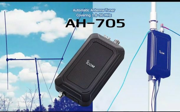 Introduction for Icom AH-705 Automatic Antenna Tuner