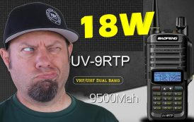 Baofeng UV-9R TP 18-watt Power Testing | UV9R Plus HT