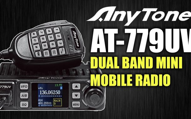 ANYTONE AT-779UV – Dual Band Mini Mobile Radio