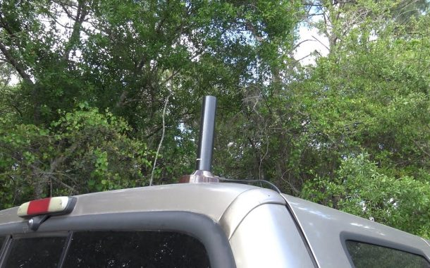 CompacTenna VHF/UHF Stealth But EFFECTIVE antenna, Review and On-Air Test